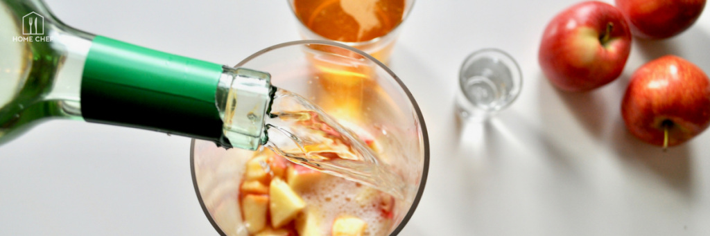 The Caramel Apple Sangria You Won't Have to Bob For