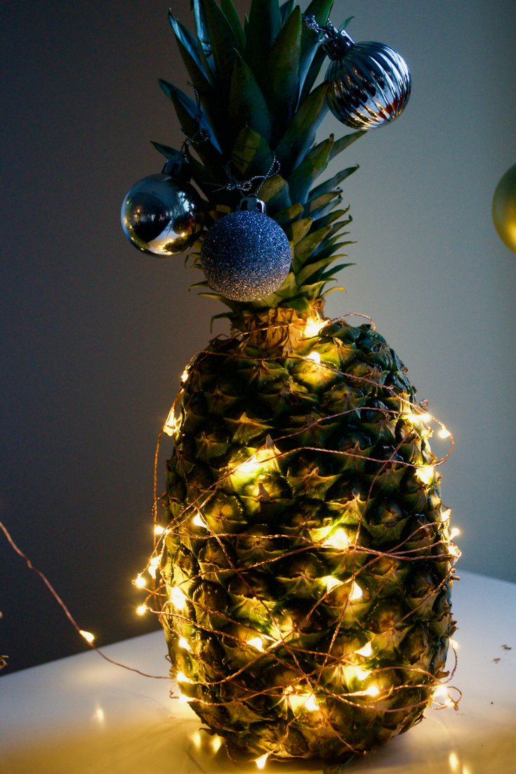 How To Make A Pineapple Christmas Tree The Table