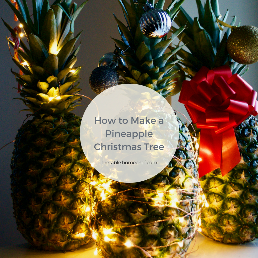 Nyc Christmas Tree Delivery: How To Make A Pineapple Christmas Tree