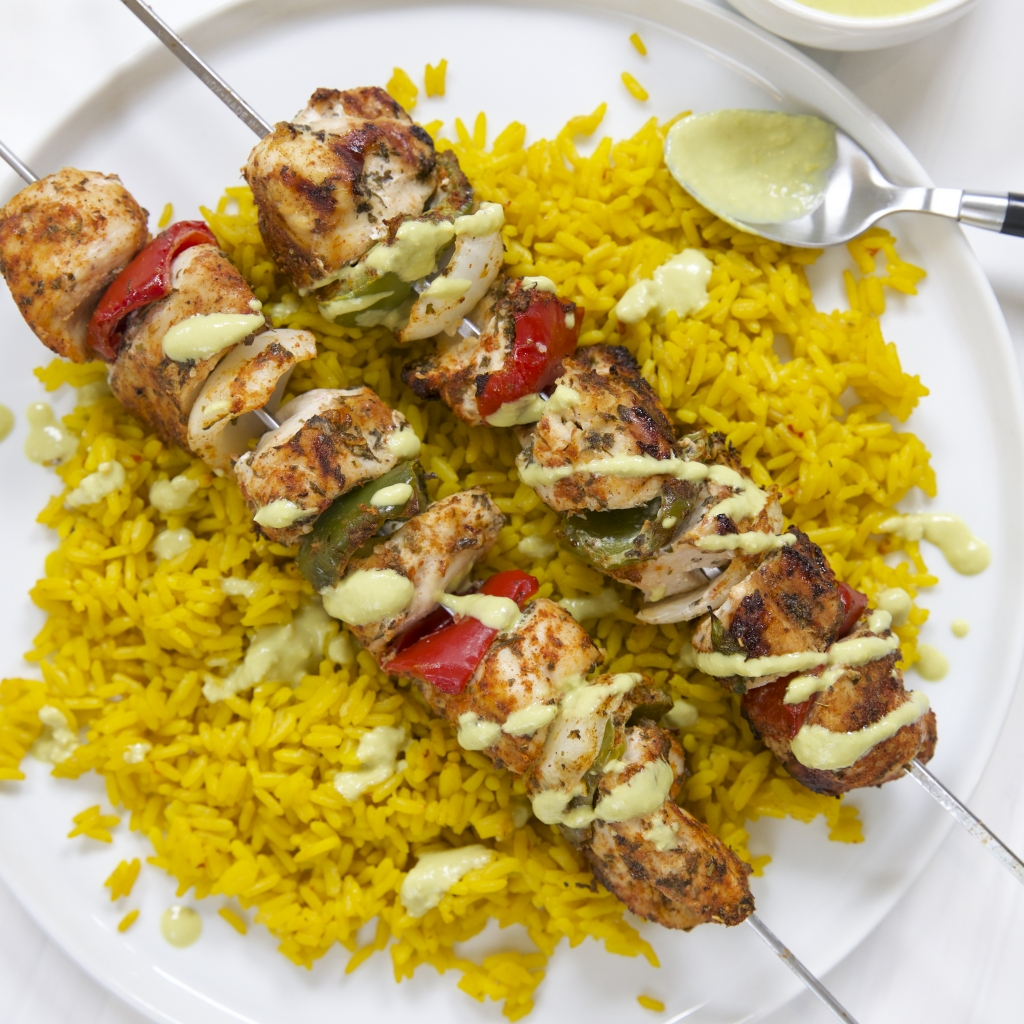 Smoky Southwestern Chicken Kebabs